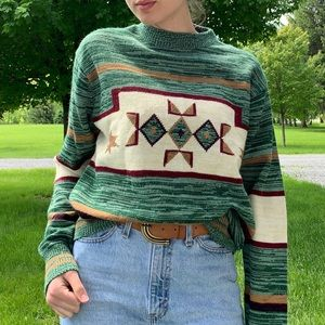Vintage American Indian style sweater